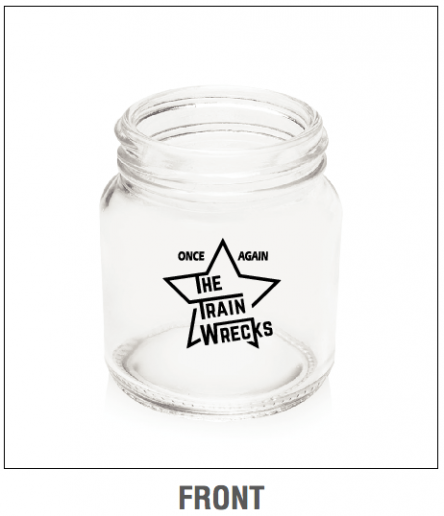 The Train Wrecks Star shot glass front.png